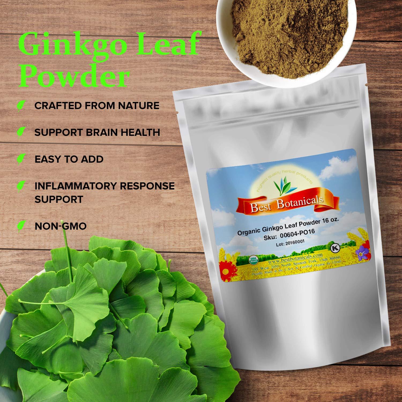 Ginkgo Leaf Powder — Ginkgo Biloba Brain Supplement