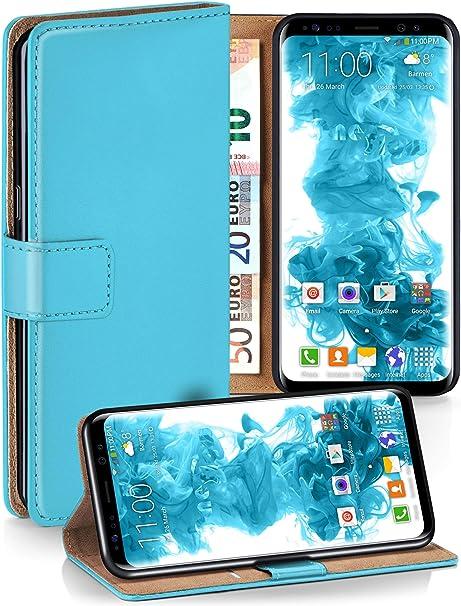 Moex Klapphülle Kompatibel Mit Samsung Galaxy S8 Hülle Elektronik