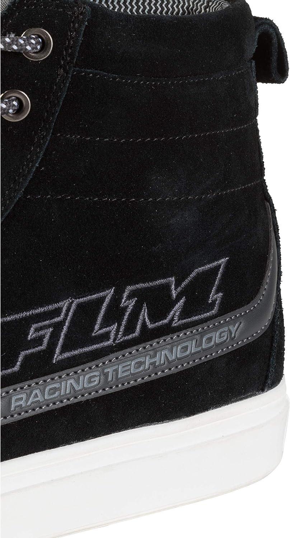 ergonomisch geformtes Fu/ßbett FLM Motorradschuhe Herren /& Damen Motorradstiefel lang City Schuh Nubukleder atmungsaktiv 36-47 verst/ärkter Kn/öchelbereich rutschfeste Funktions-Gummisohle