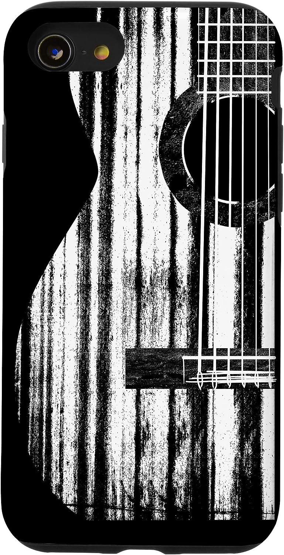 iPhone SE (2020) / 7 / 8 Acoustic Guitar Music Player Musician Guitarist Rock Humor Case