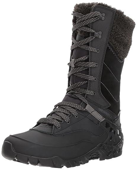 22082bf5b5 Merrell Women's Aurora Tall Ice+ Waterproof High Rise Hiking Shoes ...