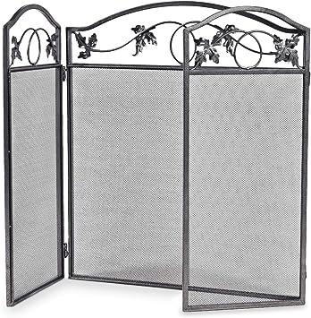 Casart Protector de pantalla plegable para chimenea, con diseño de hojas, para interior y exterior, para bebés y mascotas: Amazon.es: Bricolaje y herramientas