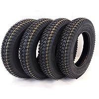 4x 300x 8bloque negro Tread movilidad Scooter neumáticos