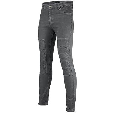 luxuriant in design sneakers provide plenty of New G72 MensGrey Indigo Blue Skinny Jeans Knee Padded Biker ...