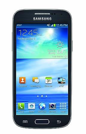 amazon com samsung galaxy s4 mini black 16gb at t cell phones