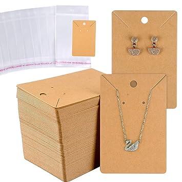 Amazon.com: Miahart - Juego de 150 tarjetas para pendientes ...