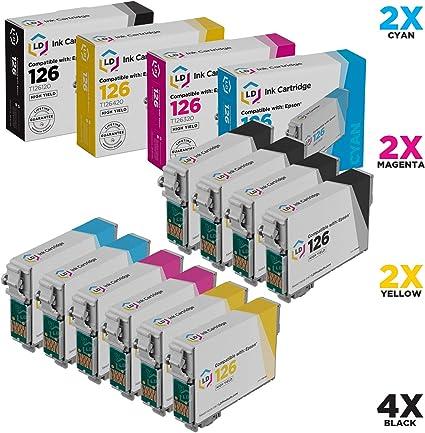 Amazon.com: LD Epson T126 Remanufacturado Alta Capacidad ...