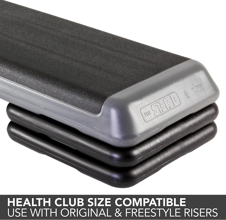 The Step Original Aerobic Risers Health Club Size