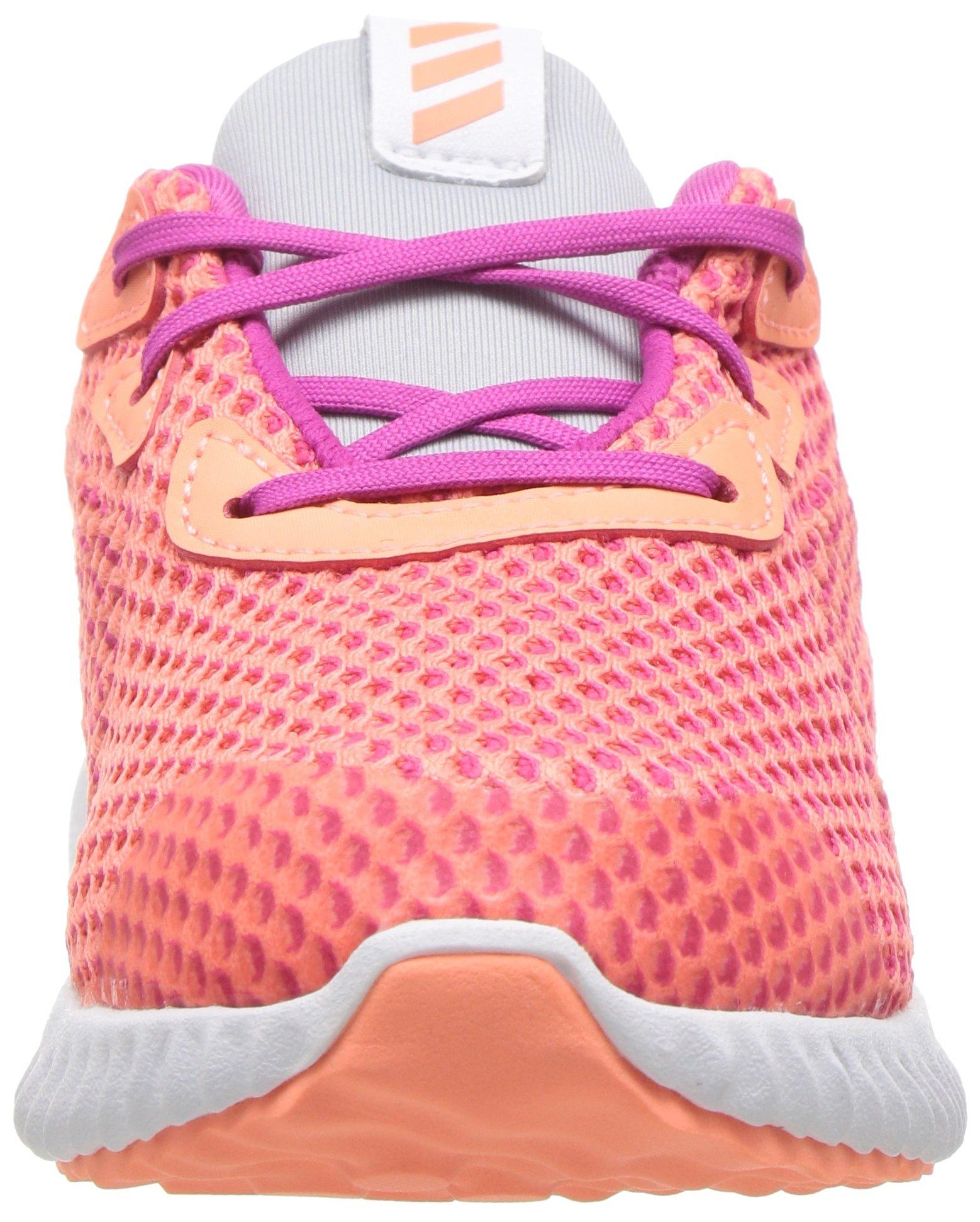 adidas Kids' Alphabounce Running Shoe, Bahia Magenta/Sun Glow/Clear Grey, 4 Medium US Toddler by adidas (Image #4)