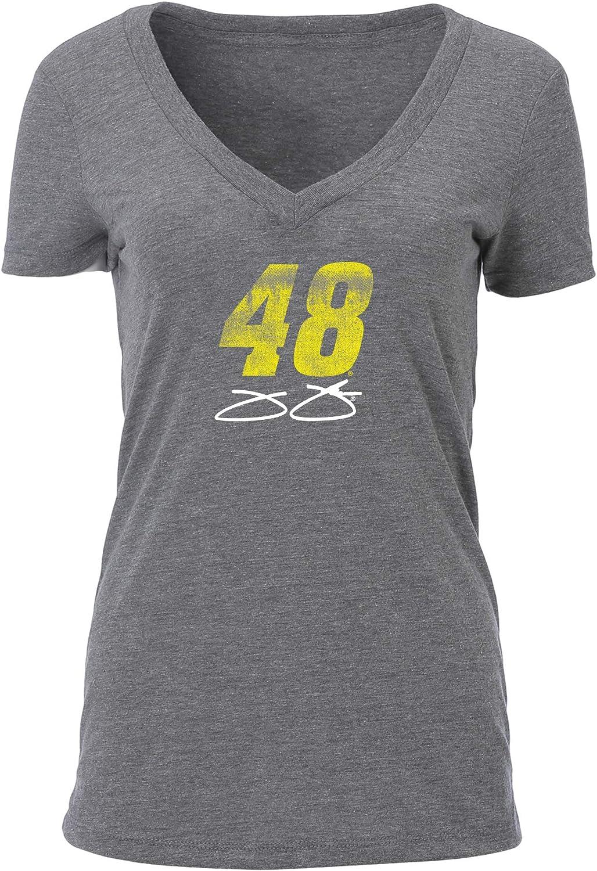 Ouray Sportswear NASCAR Womens W Tri Blend Deep V S//S T
