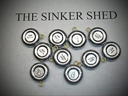 Fishing Coin Sinkers 4 oz lot of 10