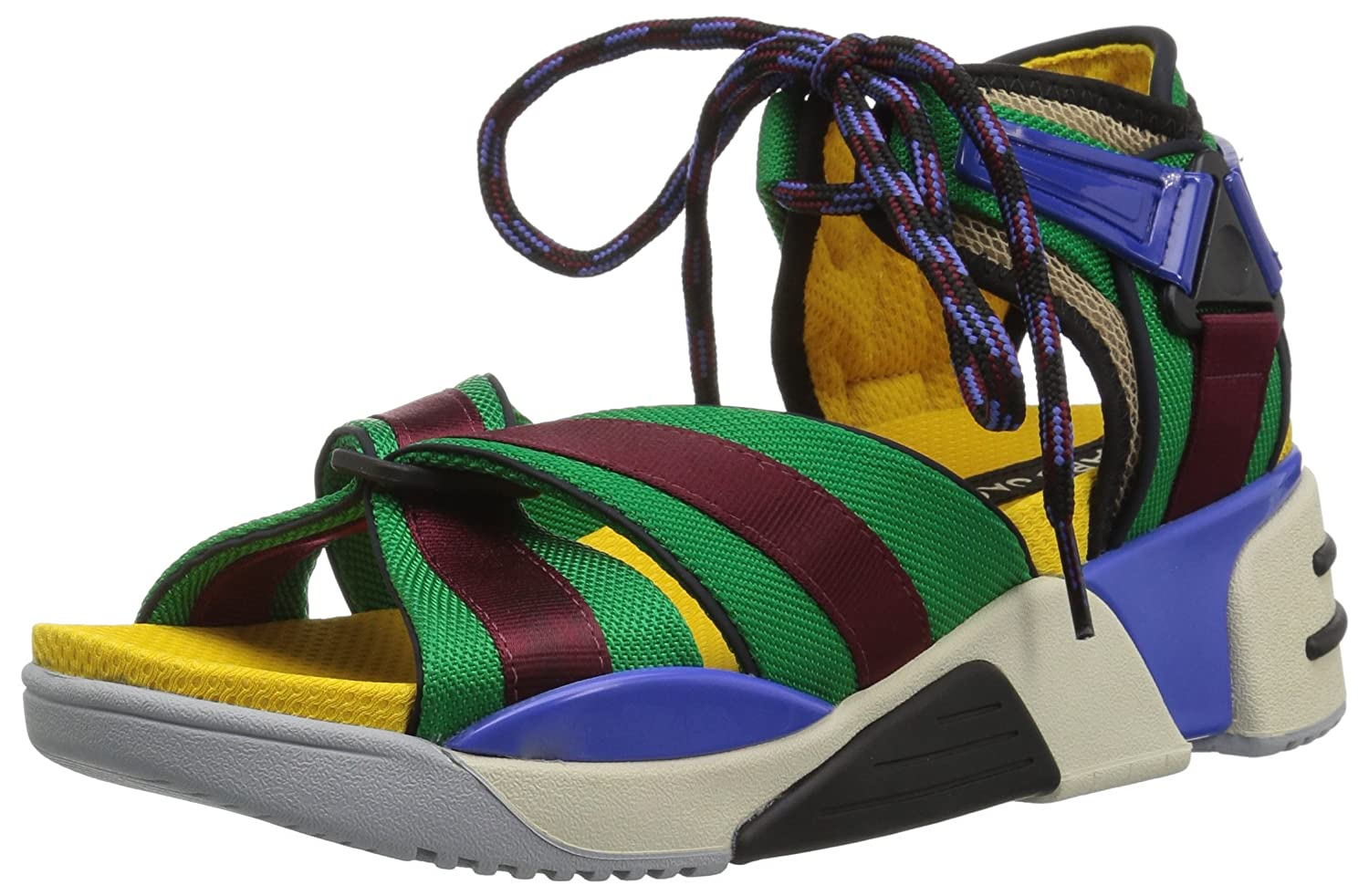 Marc Jacobs Women's Somewhere Sport Sandal B0781YYMVJ 35 M EU (5 US)|Blue/Multi