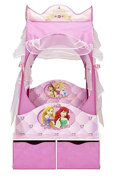 Schon Kleinkinderbett Für Mädchen Im Kutschendesign Von Disney Prinzessin, Mit  Baldachin: Amazon.de: Küche U0026 Haushalt