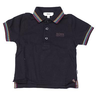 BOSS Hugo Polo - para bebé niño Negro Negro: Amazon.es: Ropa y ...