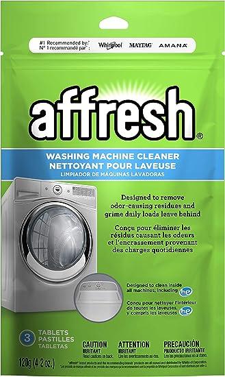 Power Fresh Washing Machine Washer Cleaner Odour Mould Mildew Affresh 6 Tablets