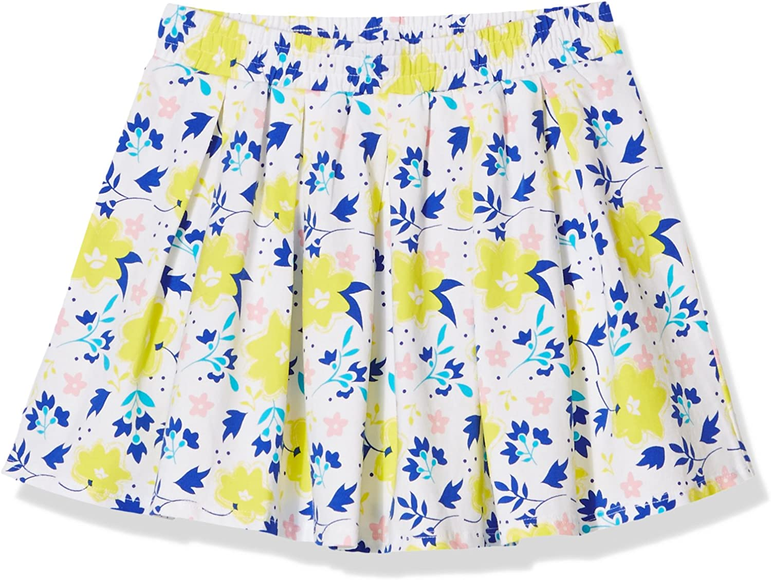 A for Awesome Girls Pleated Allover Floral Printed Skirt