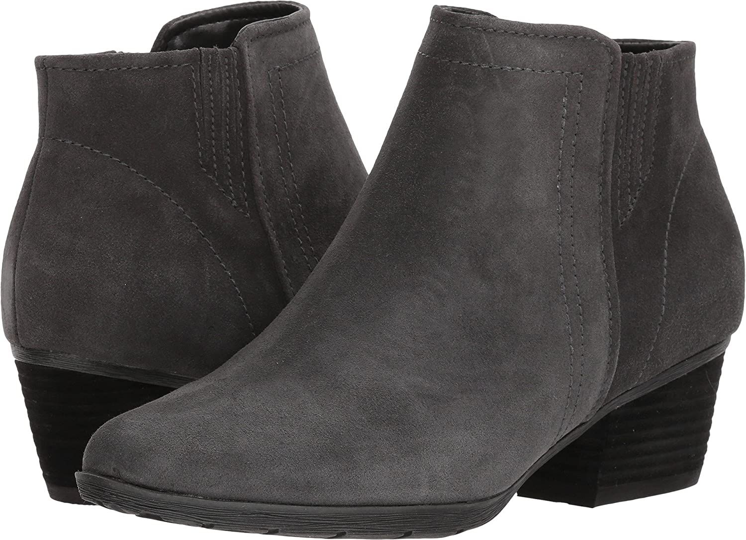 Blondo Womens Valli Waterproof Bootie B0778V3KNX 6 B(M) US|Dark Grey Suede