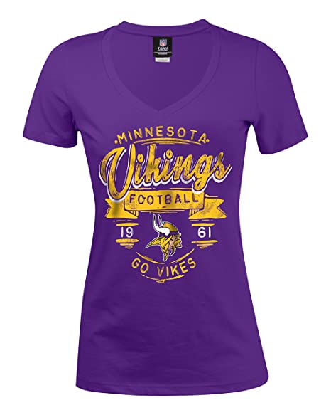 c9fad625c Image Unavailable. Image not available for. Color  NFL Minnesota Vikings  Women s Baby Jersey ...