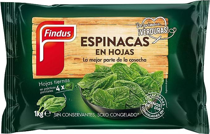 Findus Espinaca en Hojas, 1000g: Amazon.es: Alimentación y ...