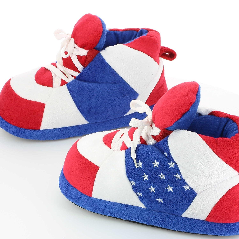 Zapatillas de casa Originales y Divertidas de Hombre y Mujer - Patriotic - 29/33 (XS): Amazon.es: Zapatos y complementos