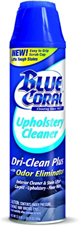 Blue Coral Upholstery Cleaner - The Best Car Upholstery Cleaner for Streak-Free Results