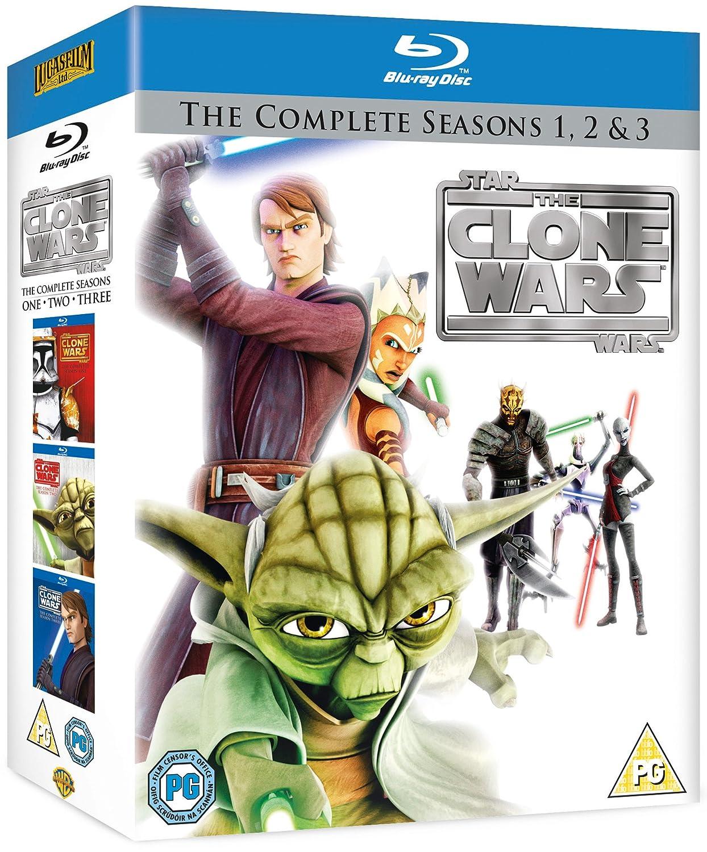 Star Wars-Clone Wars-Series 1 [Reino Unido] [Blu-ray]: Amazon.es: Star Wars-Clone Wars-Series 1: Cine y Series TV