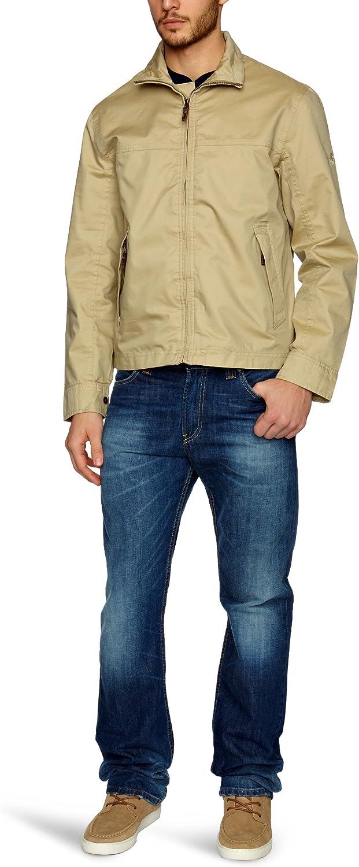 cuenco Parámetros asignar  Timberland Clothing Stratham WP Bomber Men's Rain Coat Sand Small:  Amazon.co.uk: Clothing
