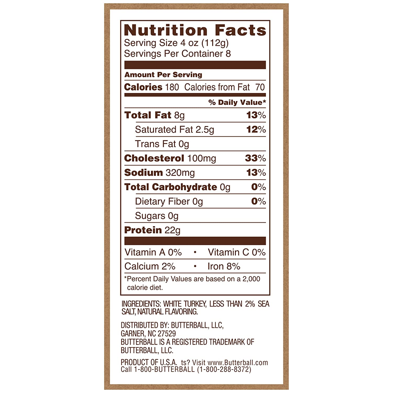 Butterball, All Natural Turkey Burgers, 2 lb (Frozen)
