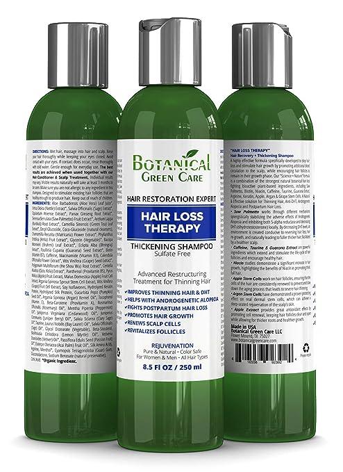 Amazon Com Hair Loss Therapy Sulfate Free Caffeine Shampoo