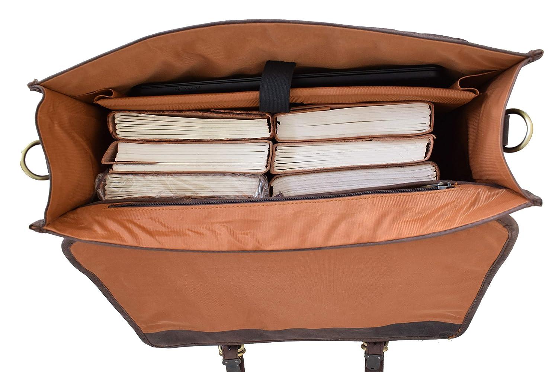 sac de travail fille sac /à bandouli/ère en cuir pur avec rembourrage antichoc MacBook pour homme Sac /à bandouli/ère fait main pour ordinateur portable Alaska Exports femme sac de travail gar/çon
