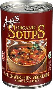 Amy's Organic Soup Fire Roasted Southwestern Vegetable -- 14.3 oz