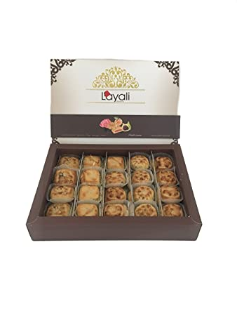 Fruit Filled Cookies Variety Gift Box Gift Basket 26 5 Oz Figs Apricot Orange Rose Mothers Day