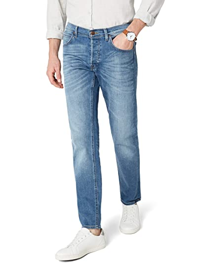 0b6974eb Lee Men's Daren Straight Jeans, Blue (Fresh Kiup), W28/L32