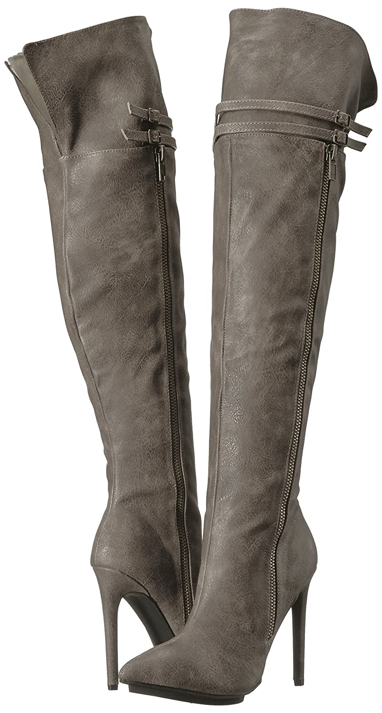 Michael Antonio Women's Wanna Western Boot B071GLTBYW 8 B(M) US|Steel