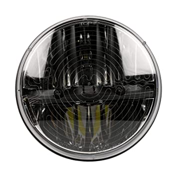 Amazon.com: Truck-Lite 27275C faro LED calefaccionado, 7 ...