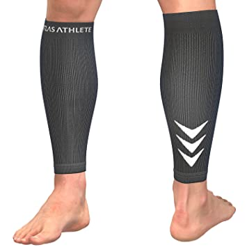 d569efe3ad Atlas Shin Splints Support Calf Compression Sleeve - Premium Guards for  Running, Cycling, Basketball