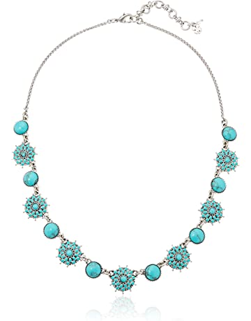 f18b2483966914 Lucky Brand Womens Turquoise Collar Necklace III