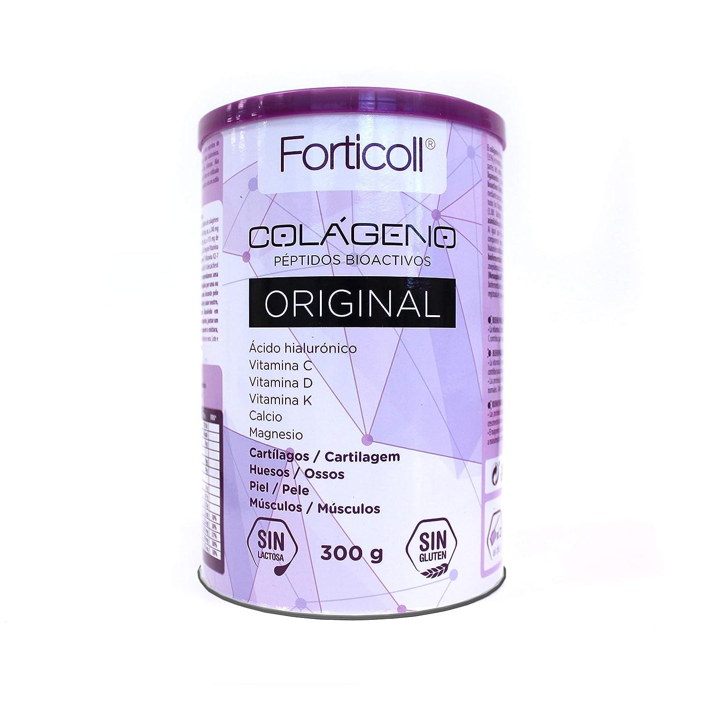 Forticoll Colágeno Péptidos bioactivos en polvo sin gluten o ...