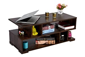 DeckUp Siena Coffee Table (Wenge, Matte Finish)