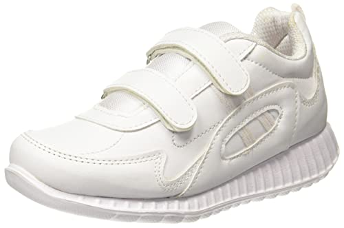 Unisex White Sneakers Sports Shoes