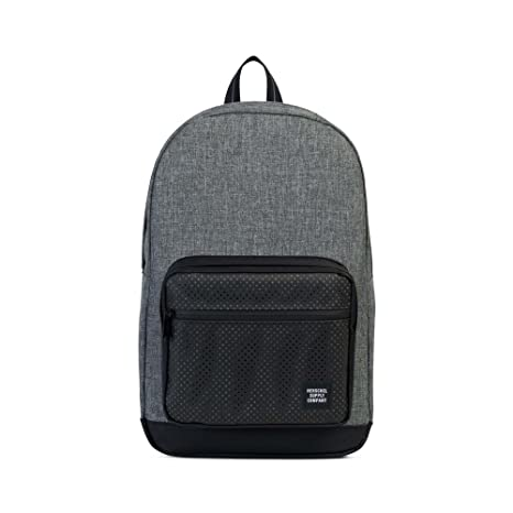 Herschel Pop Quiz Raven Crosshatch/Black - Aspect