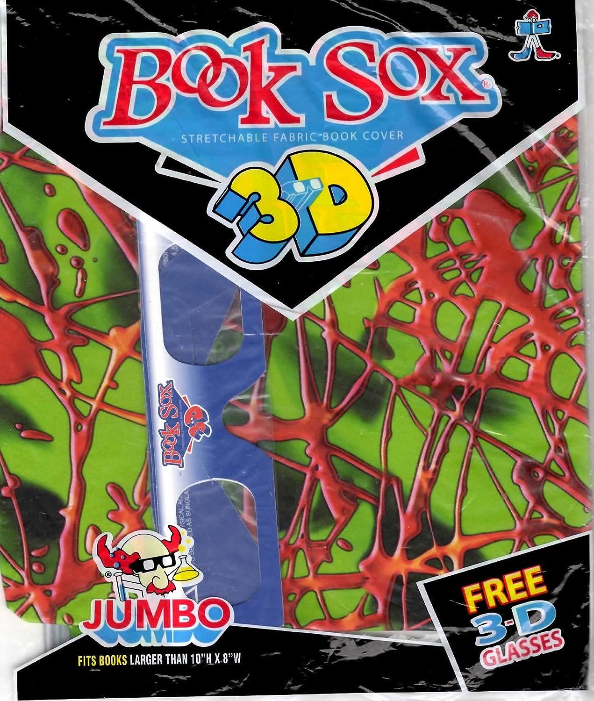3D Book Sox - With Free 3D Glasses 10 H H H x 8 W by Book Sox 997e6b