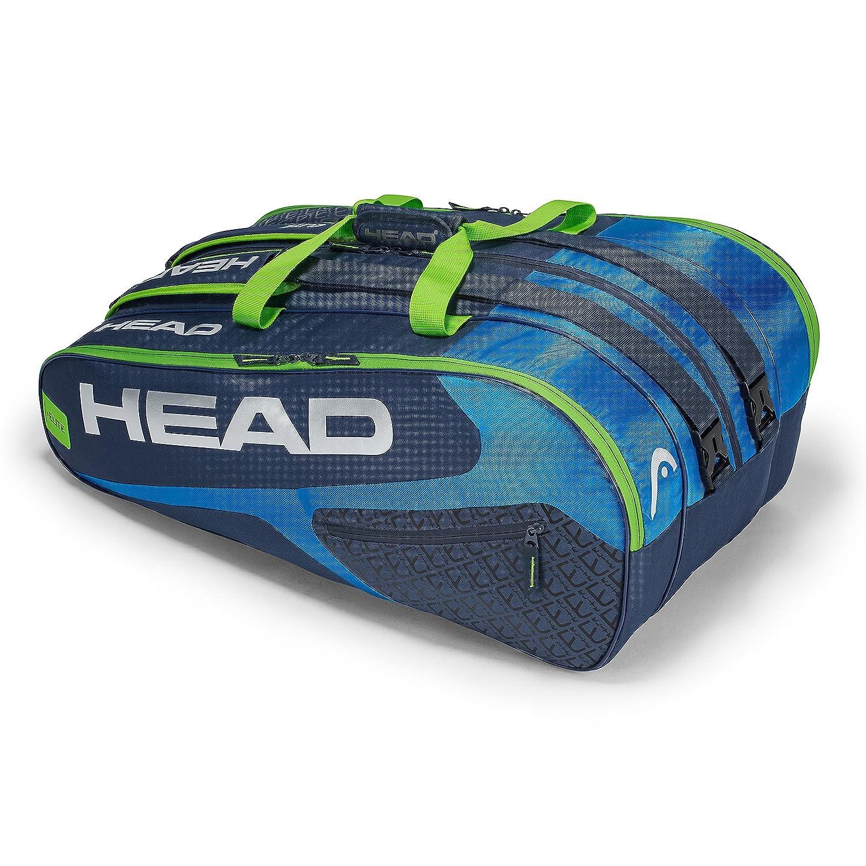HEAD Elite 12r Monstercombi Tennis Racket Bag Red One Size 283418RDRD