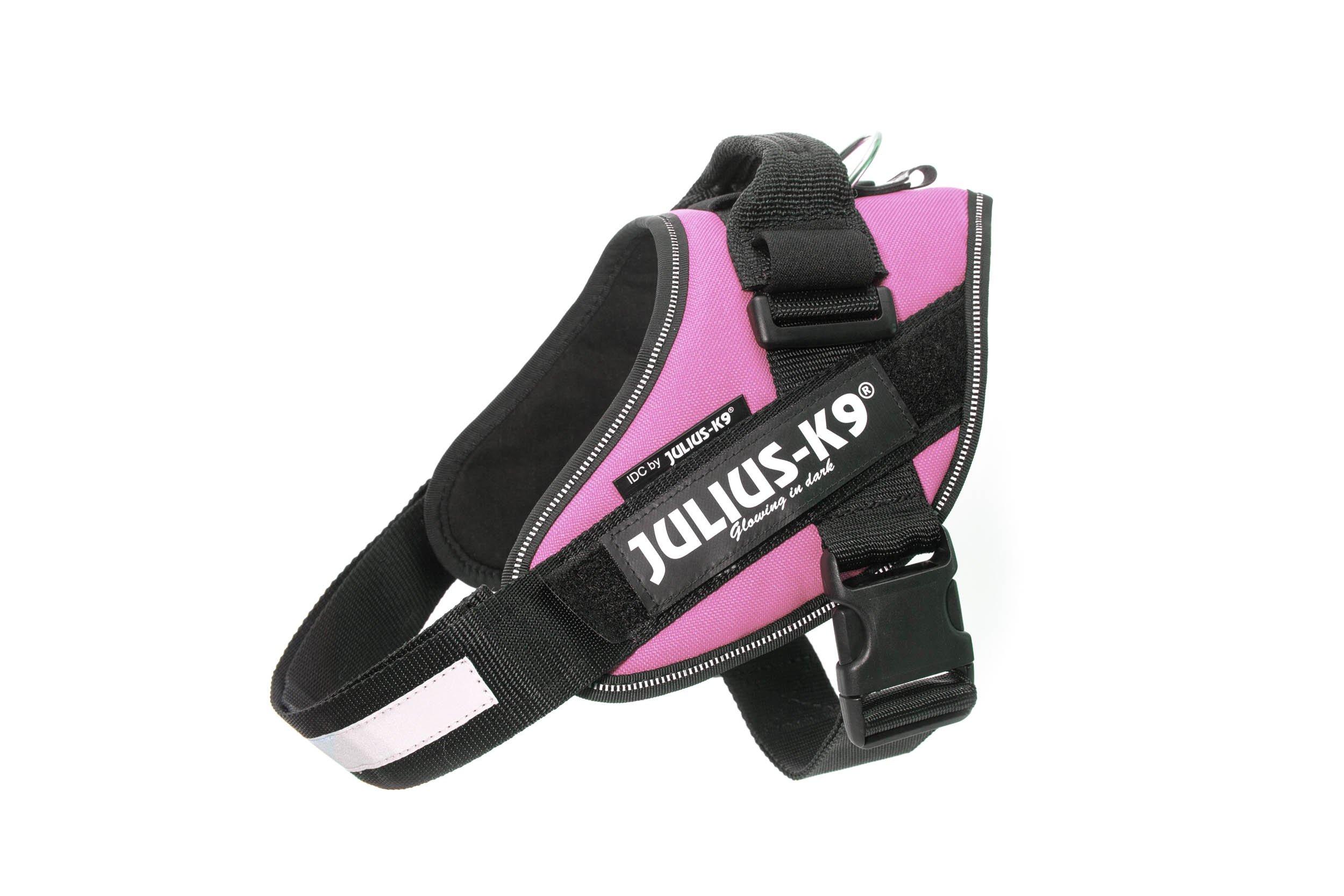 Julius-K9 IDC-Power Harness, Pink, Size: 0/58-76 cm/23-30''