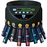 Securina24® Contamonete con funzione di impilamento in blister (black)