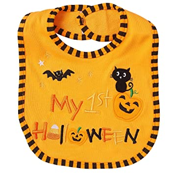 koala kids neutral my 1st halloween bib