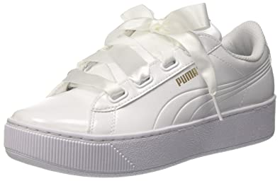 791e107ea87 Puma Women Vikky Platform Ribbon P Low-Top Sneakers  Amazon.co.uk ...