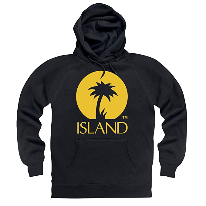 Official Island Records Logo One Sudadera con Capucha, para Hombre: Amazon.es: Ropa y accesorios