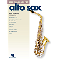 Essential Songs for Alto Sax (Songbook) book cover