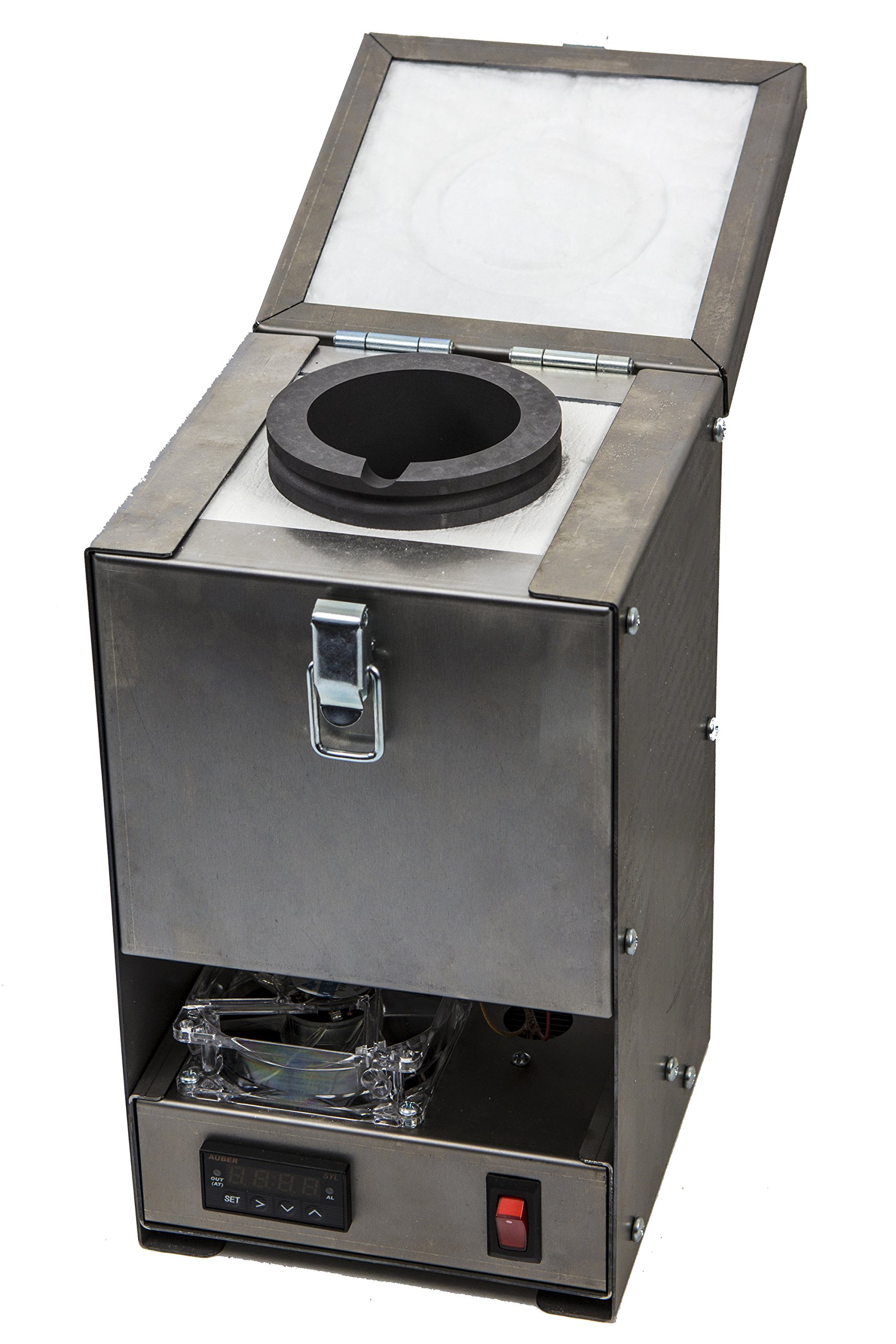 Quikmelt Pro-60oz Electric Kiln with Digital Temperature Controller. Perfect for Metal Casting & Refining, Melting Gold, Silver, Copper, More...